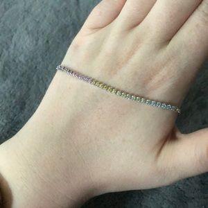 Pandora Sparkling Strand Bracelet, Multi
